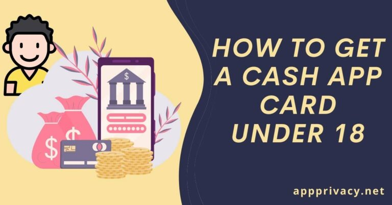 how to get a cash app card under 18
